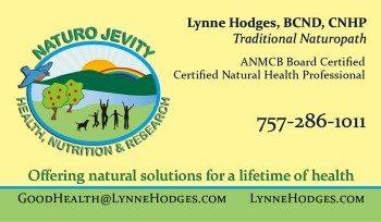 Naturo Jevity Business Card
